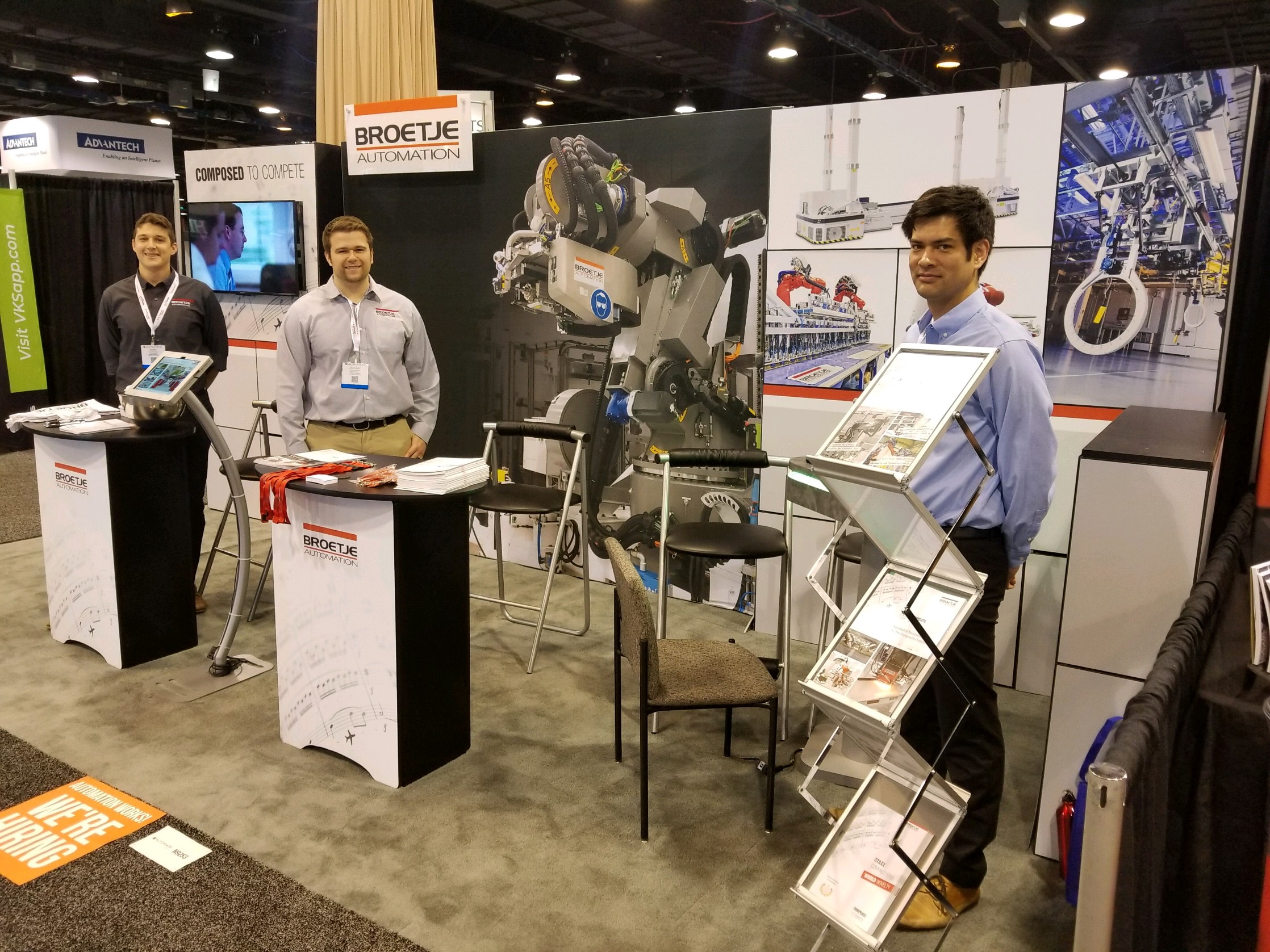 Broetje-Automation showcases its automation and robotic product portfolio at Automate 2019 in Chicago.